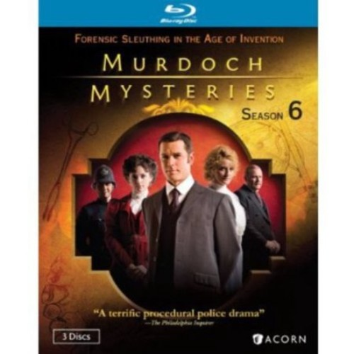Murdoch Mysteries Season 6 (Blu-ray)