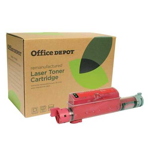 Office Depot Brand ODD5110M (Dell KD557) Remanufactured High-Yield Magenta Toner Cartridge
