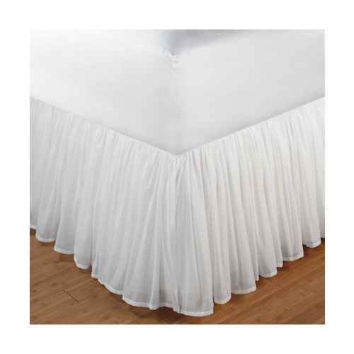 Greenland Home Cotton Voile Bed Skirt Twin