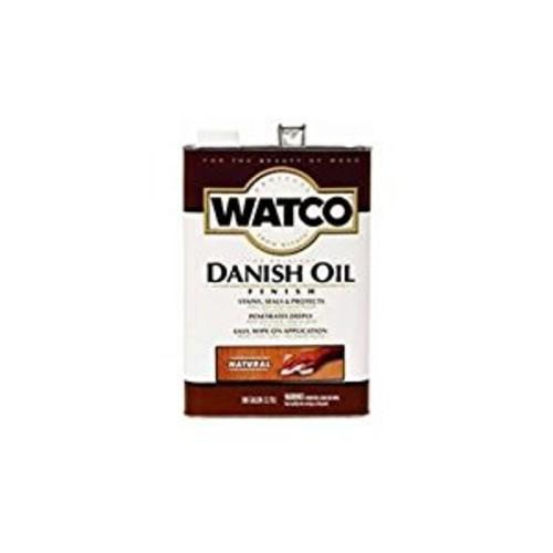 Watco 65131 Danish Oil, Golden Oak - ONE Gallon [Golden Oak, 1 Gallon]