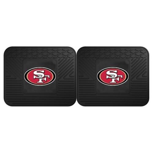 NFL - San Francisco 49ers Backseat Utility Mats 2 Pack 14