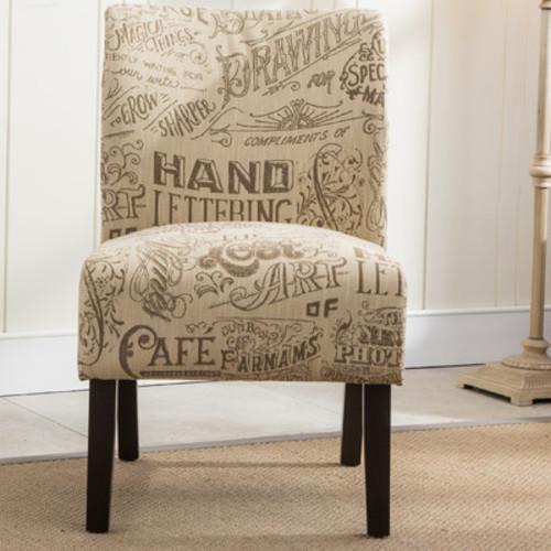 Savane Chalkboard Slipper Chair