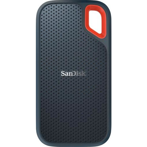SanDisk - Extreme 2TB External USB 3.1 Gen 2 Type-A/Type-C Portable Solid-State Drive