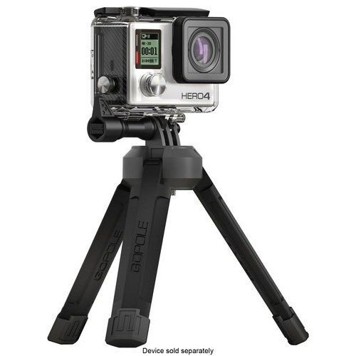 GoPole BASE - Bi-Directional Compact Tripod for GoPro Cameras : Camera & Photo