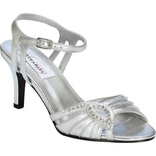 Women's Dyeables Ariana Silver Metallic