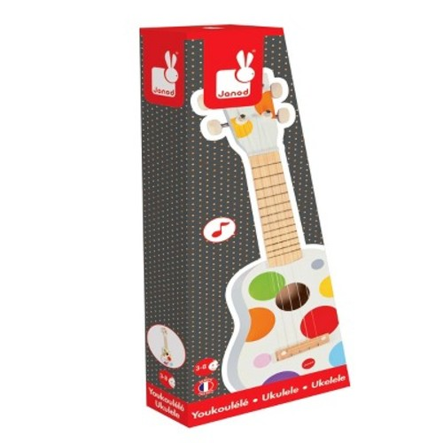 Janod Ukulele Music Set, Mixed