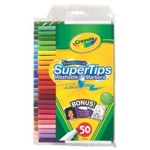 Crayola Washable Super Tip Markers with Silly Scents