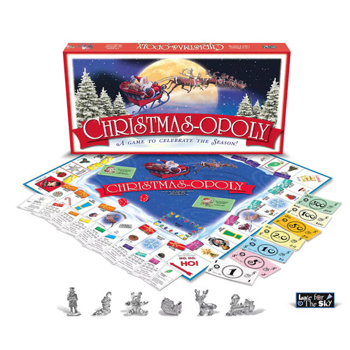 Christmas-opoly [Multicolor, None]