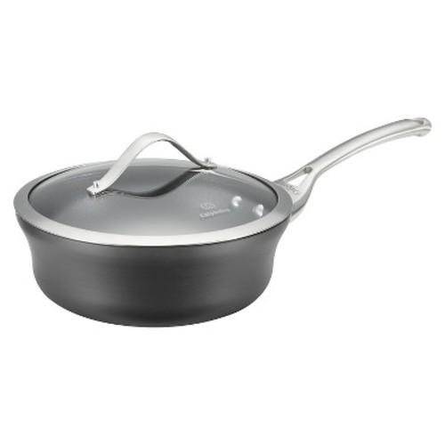 Calphalon Contemporary 2.5 Quart Non-stick Dishwasher Safe Shallow Sauce Pan with Cover