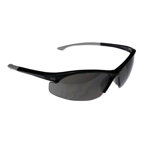 BLACK+DECKER Flex Tip, Slim Frame Safety Glasses with Smoke Lens