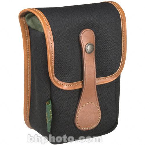 AVEA 5 Pouch (Black Canvas & Tan Leather Trim)
