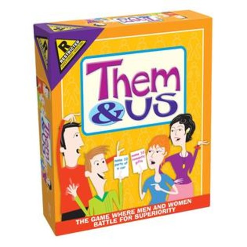 Outset Media Them and Us Couples Party Game