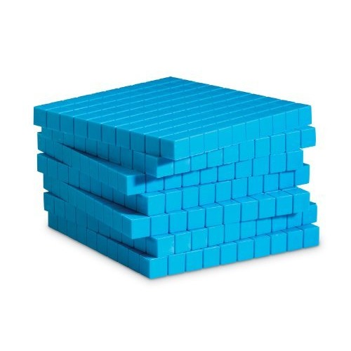 Learning Resources Plastic Base Ten Flats, 10 Piece [1]