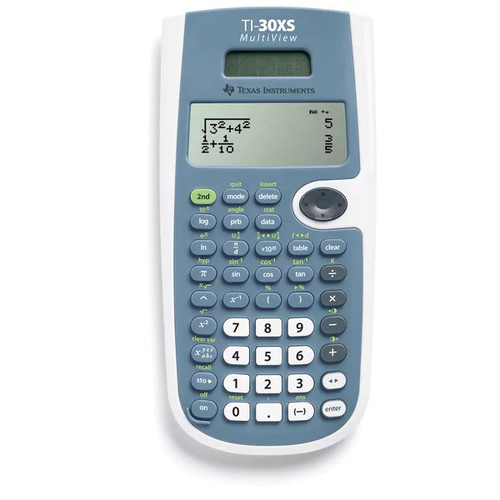 Texas Instruments TI-30XS Scientific Calculator - TI-30XS MultiView Calculator