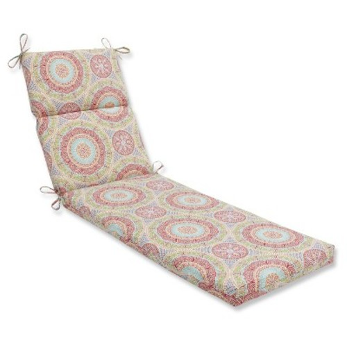 Outdoor/Indoor Delancey Jubilee Chaise Lounge Cushion - Pillow Perfect