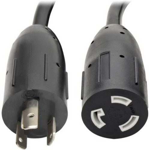 Tripp Lite 10ft Power Cord Extension Cable L5-20P to L5-20R with Locking Connectors Heavy Duty 20A 12AWG 10'