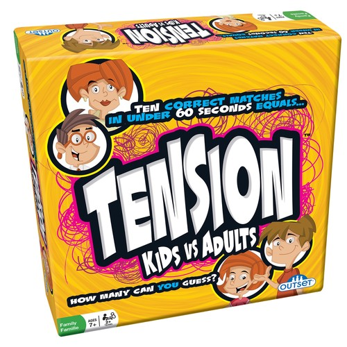 Outset Media Cheatwell Games 'Tension Kids Vs. Adults' Game