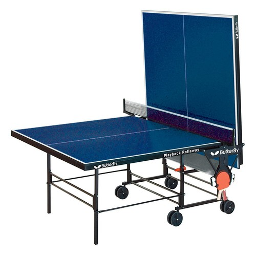 Butterfly Playback Rollaway Table Tennis Table [Blue]