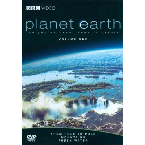 Planet Earth: From Pole to Pole/Mountains/Fresh Water (DVD)