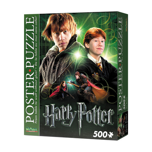 Wrebbit Puzzles Ron Weasley 500 Piece Poster Puzzle