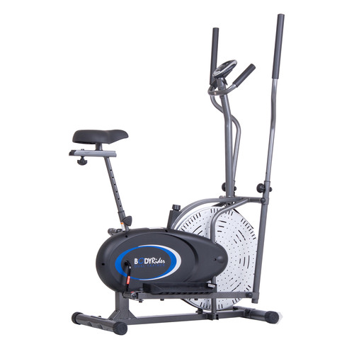 Body Rider 2-in-1 Cardio Dual Trainer (Elliptical and Upright Bike)