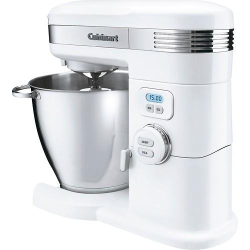 Cuisinart - Tilt-Head Stand Mixer - White