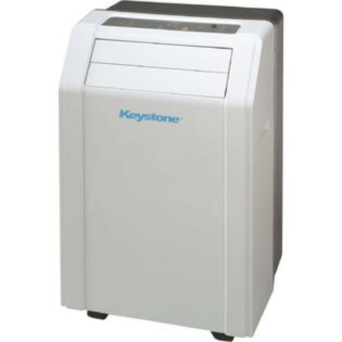 Keystone KSTAP12A 12,000-BTU 115V Portable Air Conditioner with 'Follow Me' LCD Remote Control