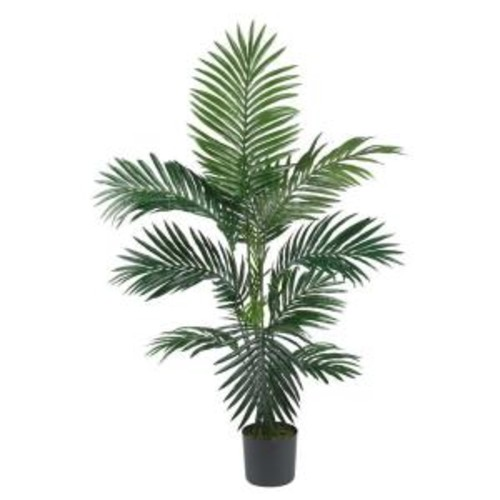 Nearly Natural 4 ft. Kentia Palm Silk Tree