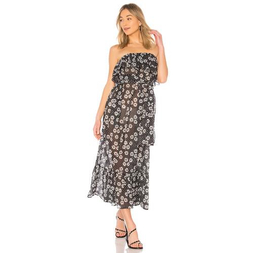 Lisa Marie Fernandez Sabine Dress in Black & White