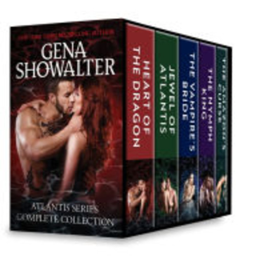 Atlantis Series Complete Collection: A Paranormal Romance Box Set Heart of the Dragon\Jewel of Atlantis\The Nymph King\The Vampire's Bride\The Amazon's Curse