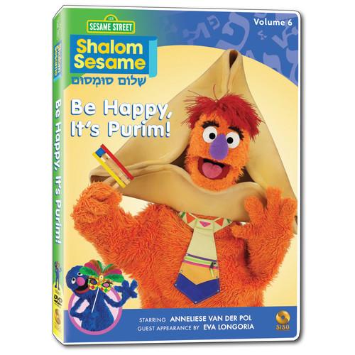 Shalom Sesame Vol 6: Be Happy, It's Purim! (DVD)
