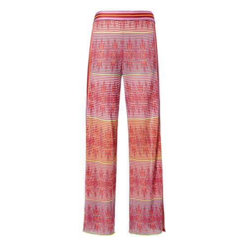 Split Hem Printed Pants