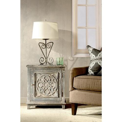 Hillsdale Furniture Havana Dark Graywash Storage Cabinet