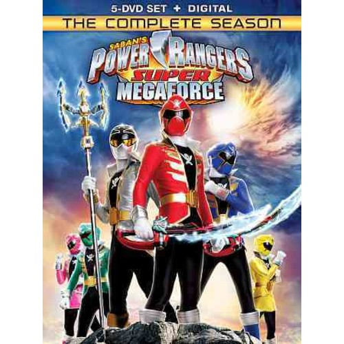 Power Rangers Super Megaforce: The Complete Season (DVD)