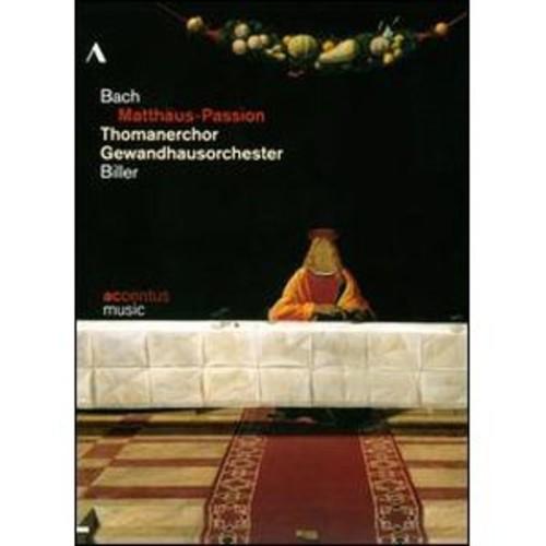 Thomanerchor Gewandhausorchester: Bach - Matthaus-Passion [2 Discs] WSE DD5.1/DTS/2