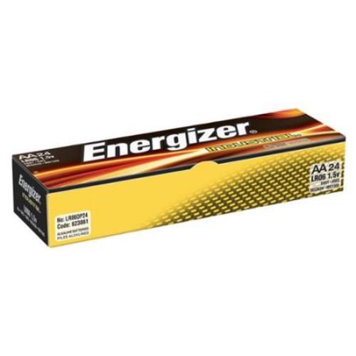 ENERGIZER Standard Battery, AA, Alkaline, PK24 EN91