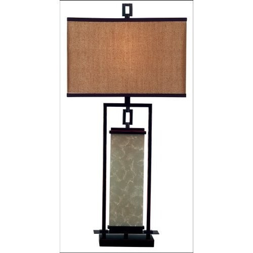 Kenroy Home 30740ORB Plateau Table Lamp- Oil Rubbed Bronze Finish