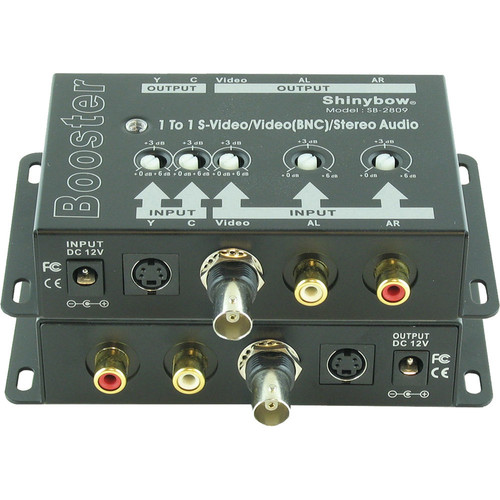 SB-2809 1 x 1 S-Video / Composite Video and Stereo Audio Amplifier