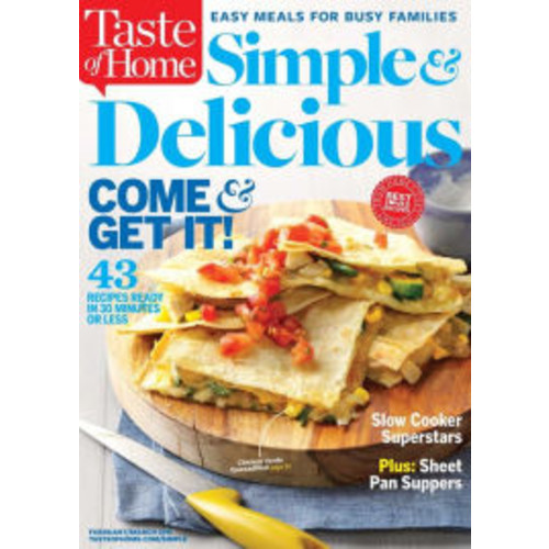 Taste of Home Simple & Delicious - One Year Subscription