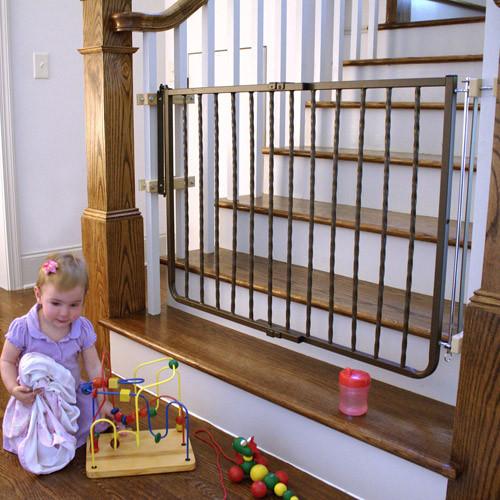 Cardinal Gates Stairway Wrought Iron Decor Gate