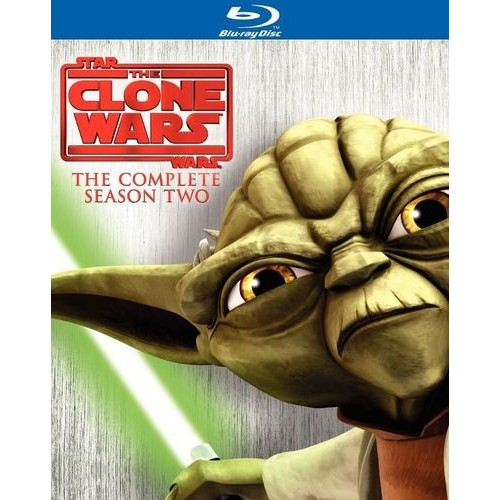 Star Wars: The Clone Wars - The Complete Season Two [3 Discs] [Blu-ray]