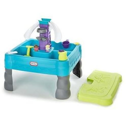 Little Tikes Sandy Lagoon Waterpark PLAY TABLE, Kids Outdoor Sand & WATER TABLE