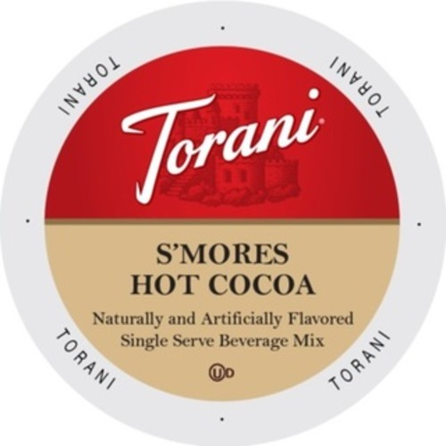 Torani Indulgent Beverages S'Mores Hot Cocoa Single-serve Portion Pack for Keurig K-Cup Brewers