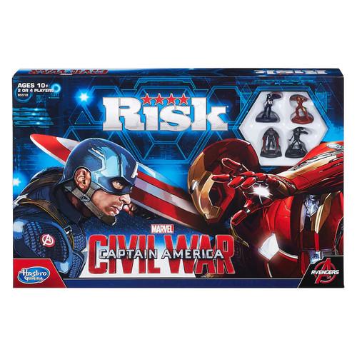 Marvel Captain America Civil War Edition Risk Game