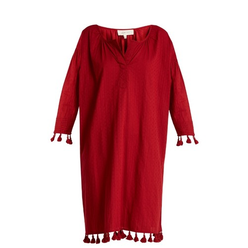 The Tassel Tunic cotton dress