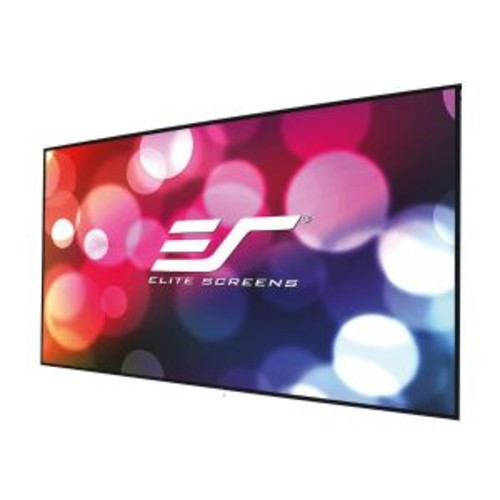 Elite Screens Aeon CineGrey 3D Series AR120DHD3 - Projection screen - wall mountable - 120 in (120.1 in) - 16:9 - CineGrey 3D - black