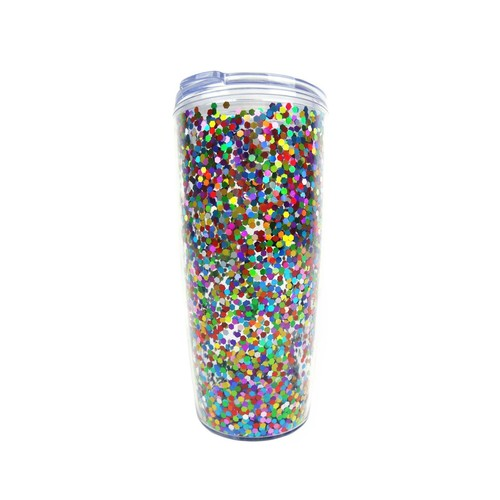 Confetti Travel Tumbler