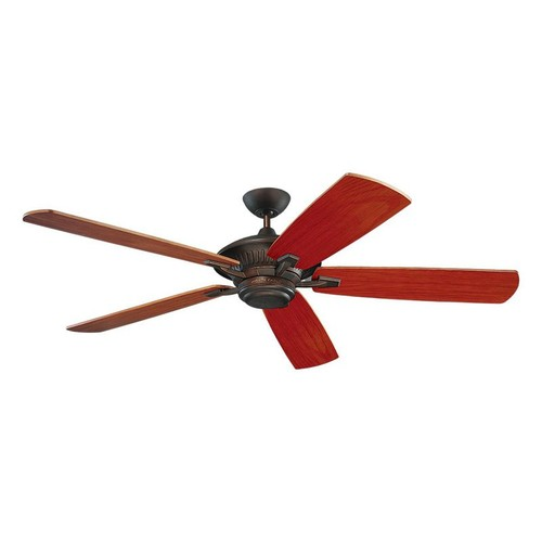 Monte Carlo 5CY60RB, Cyclone, Outdoor Ceiling Fan, 60