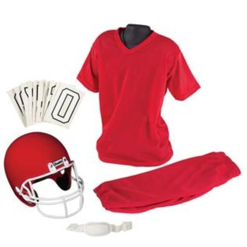 Franklin Sports NFL Medium Red Youth Uniform Set