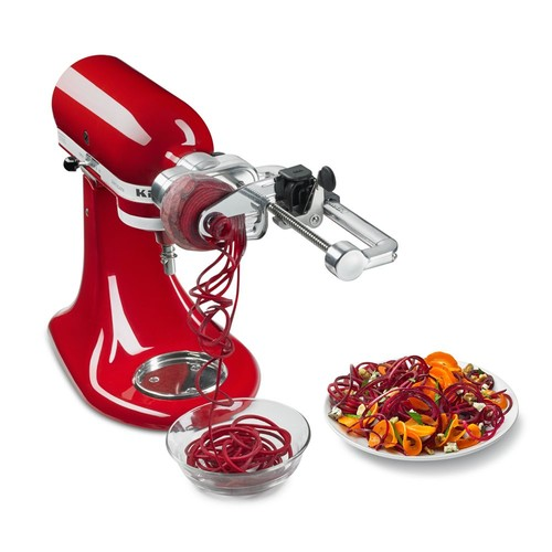 Spiralizer Plus with Peel, Core and Slice #KSM2APC